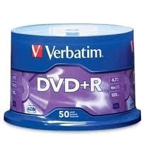 DVD+R Verbatim box 50ks