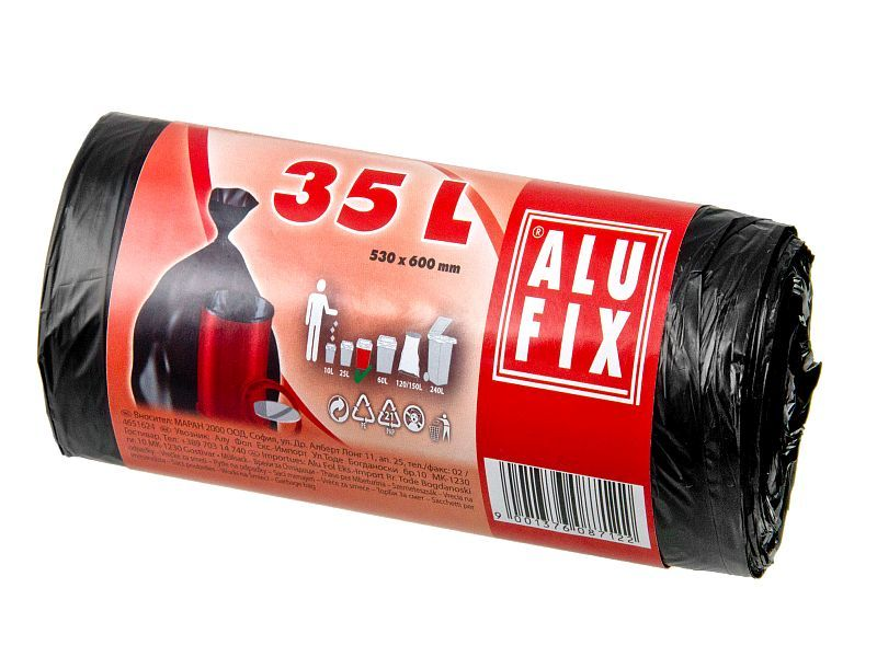 Sáček do koše 35l/55x60/ 30ks ALUFIX STRONG