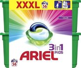 Kapsle na praní Ariel active gel color - 56 kapslí